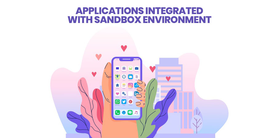 Applications Integrated With Sandbox Environment