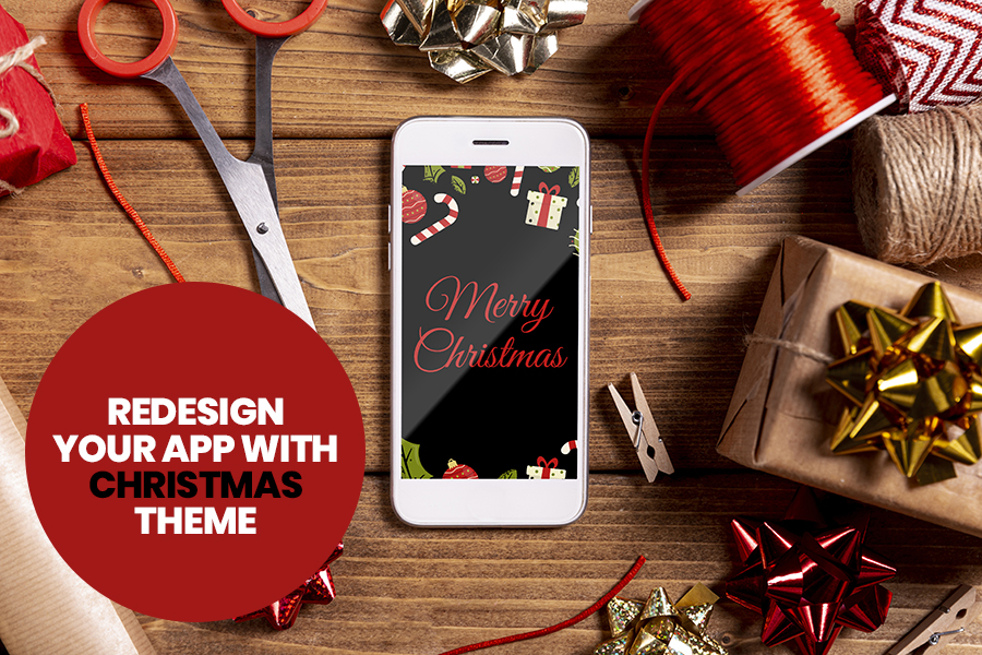 Redesign Your App With Christmas Theme