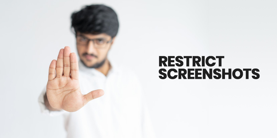 Restrict screenshots