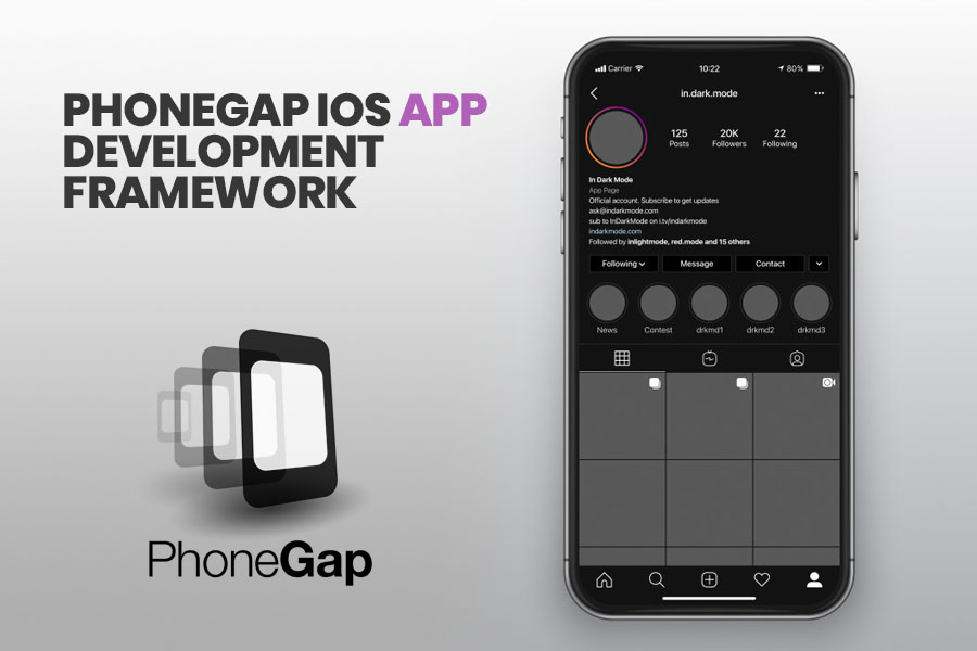 PhoneGap iOS App Development Framework