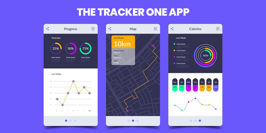 The tracker One Apps