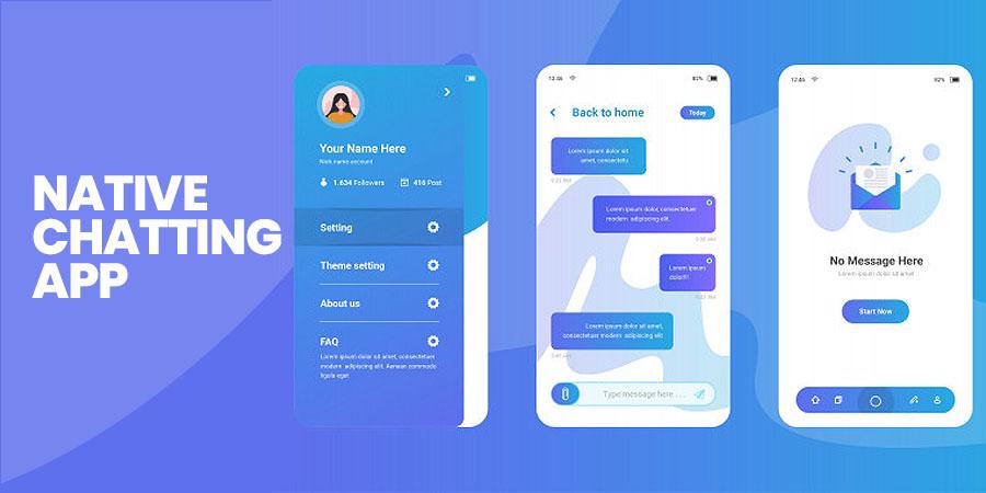 Native Chatting App