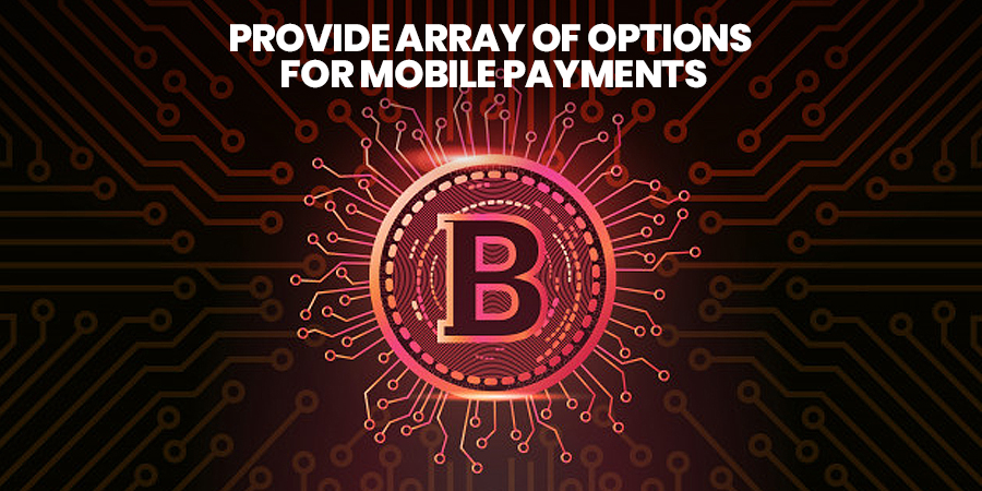 Provide Array Of Options For Mobile Payments