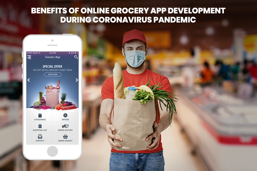 grocery mobile application development